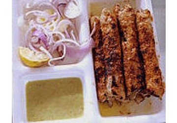 Changezi's Chicken Seekh Kabab